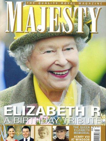 Elizabeth R, a Birthday Tribute