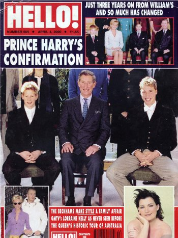 Prince Harry's Confirmation Part 1