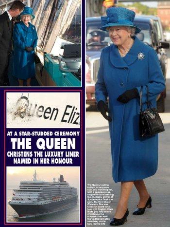 Queen Elizabeth Liner