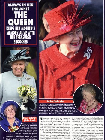 The Queen Mother's Brooches
