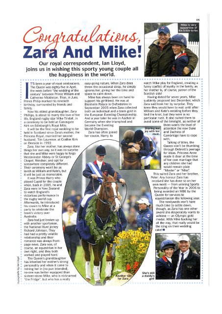 Zara and Mike