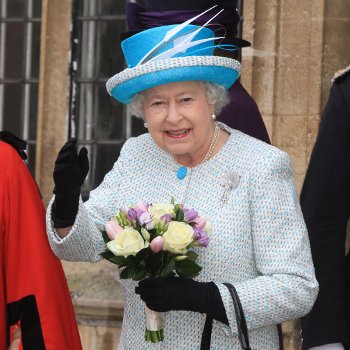 Queen with Bouquet