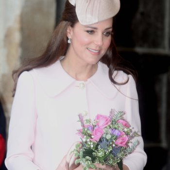 Kate Middleton with Bouquet