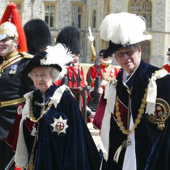 Queen at the Garter Ceremony