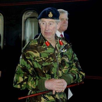 Prince Charles at Warrington