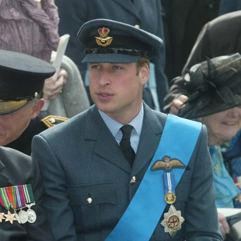 Prince William in Uniform