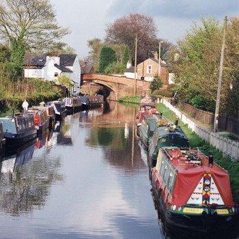 Bridgewater canal, Cheshire