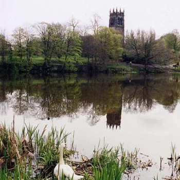 Lymm church, Cheshire