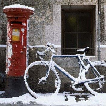 Oxford in winter