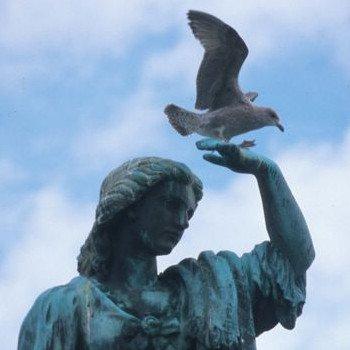 Statue at Inverness castle