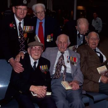 Great War reunion in 2001