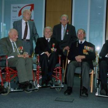 Great War reunion in 2003