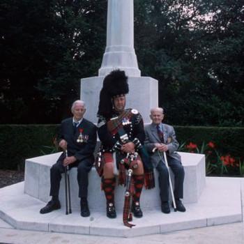Harry Patch & Arthur Halestrap in Flanders